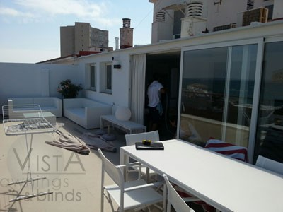 Javea Terrace prior to fitting