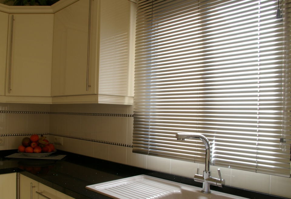 25mm Metal Finish Aluminium Venetian Blind